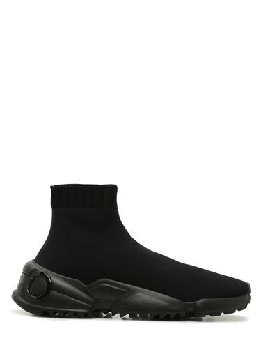 Salvatore Ferragamo Salvatore Ferragamo  Çorap Formlu Erkek Sneaker 101620602 Siyah